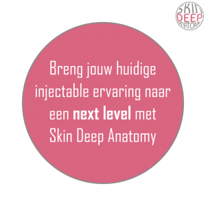 Skin Deep anatomy praktische injectable training